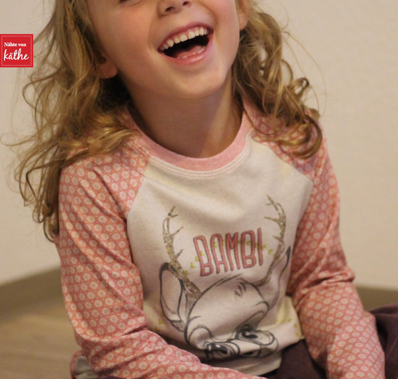 Shirt Raglan Kids von Leni Pepunkt