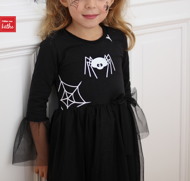 Hexenkostüm nähen, Halloweenkostüm