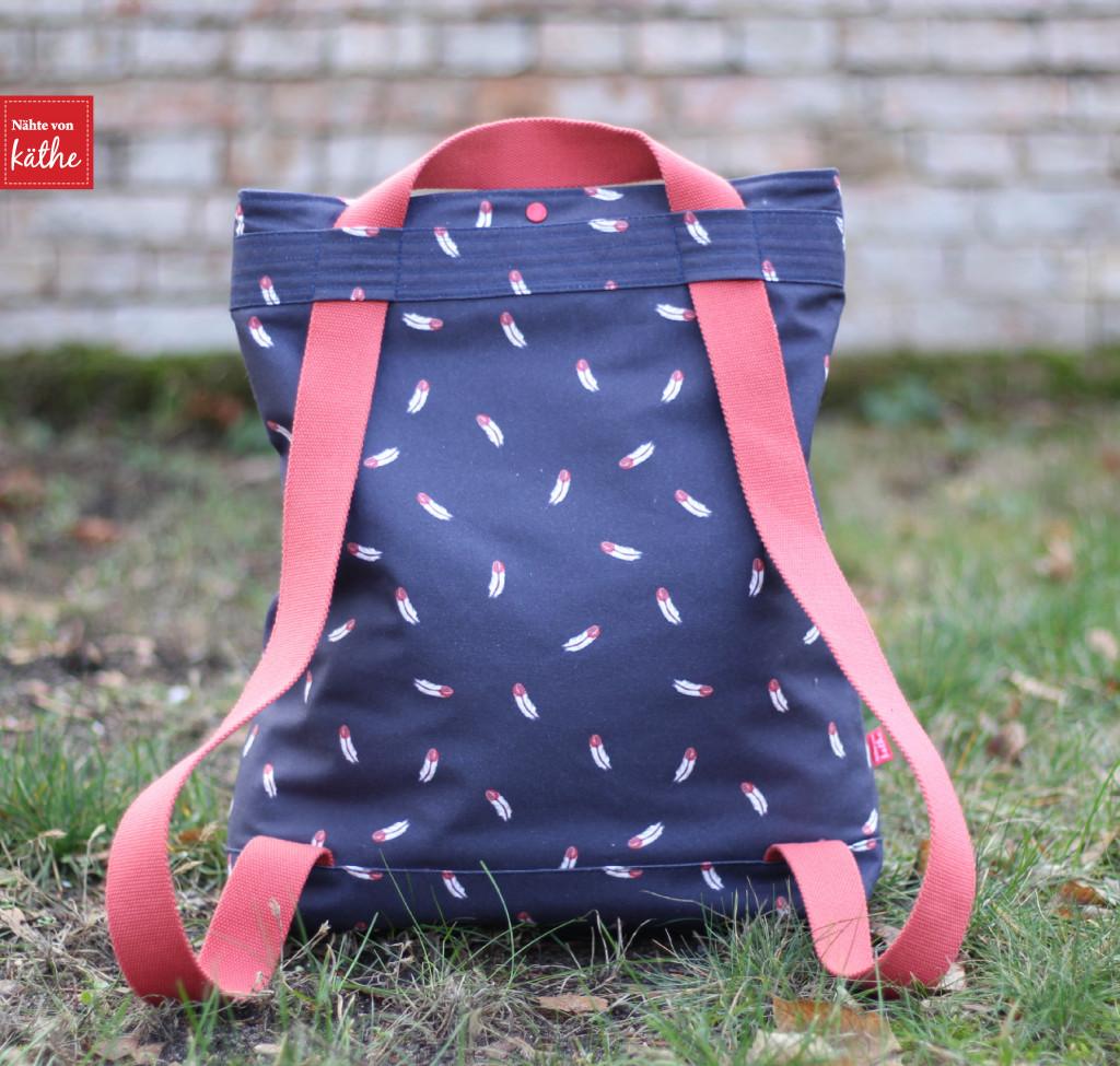 Citie Bag von Prülla aus Feathers von Lila Lotta