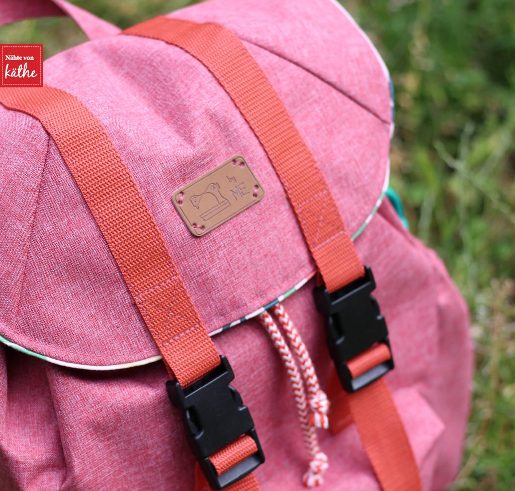 Rucksack nähen: Mucksack von Muckelie