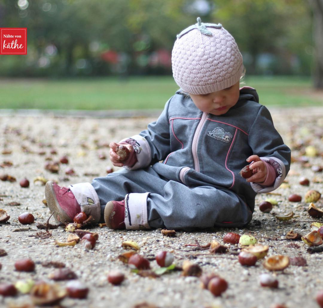 Draußenkind aus Softshell von Lotte & Ludwig